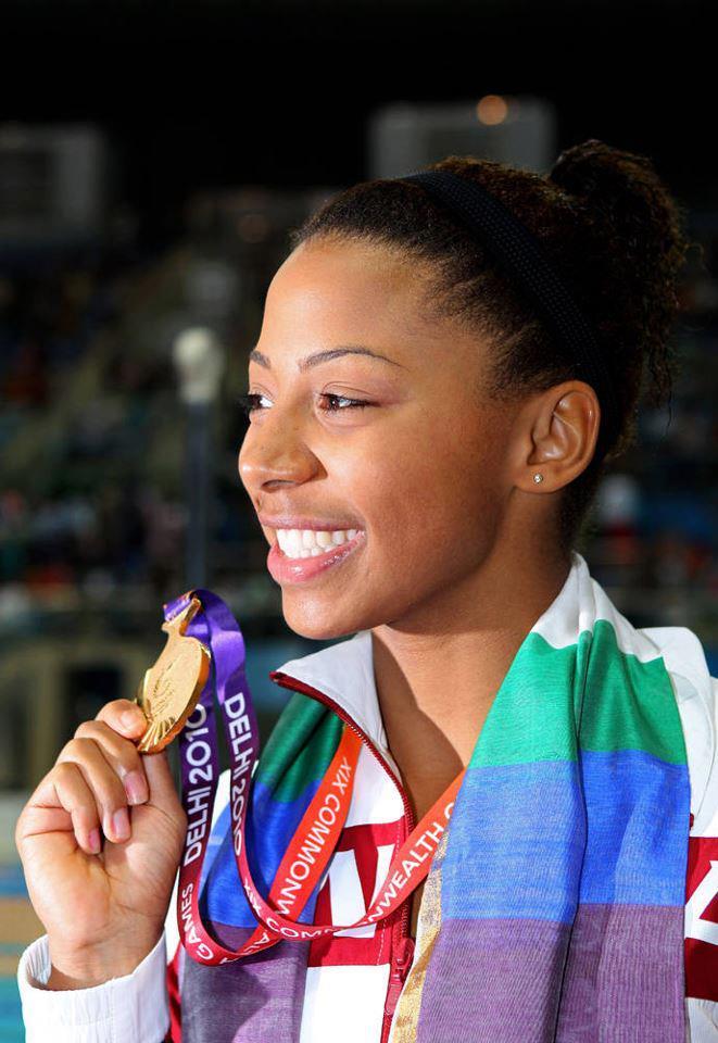 La canadienne d'origine haïtienne Jennifer Abel remporte ...  Jennifer Abel